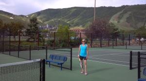 Tennis in Park City, Utah