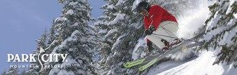 Wintertme Park City skier 2